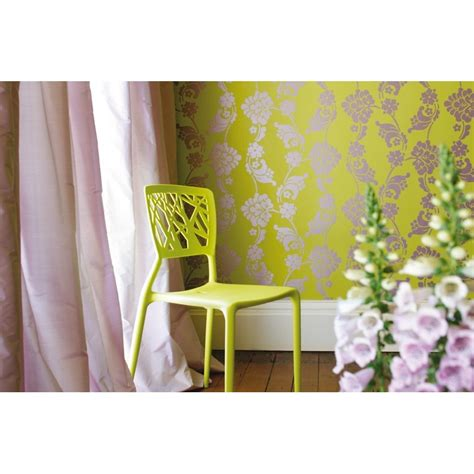 green jacquard wallpaper velvet jacquard lime green at10099 wp094