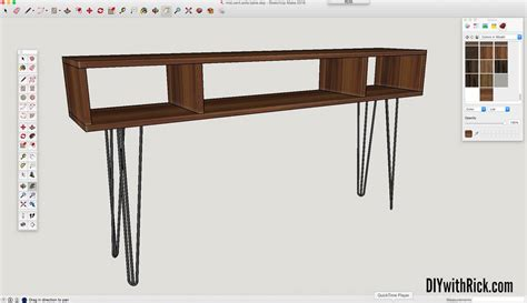 mid century modern sofa table designing a mid century modern sofa table diywithrick