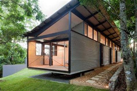 Connex House by In The Box Modern Steel Shipping Container Home Connex
