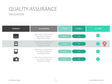 quality assurance templates free free quality assurance powerpoint template from oct 12 to