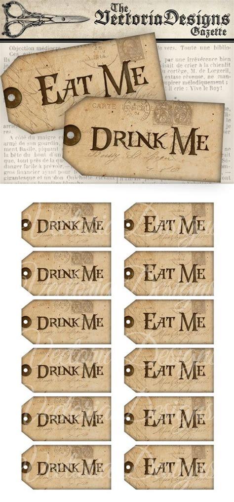Eat Me Printable Tags