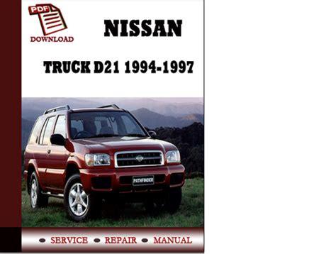 Service Manual Nissan Truck D21 1994 1994 1995 1996 1997