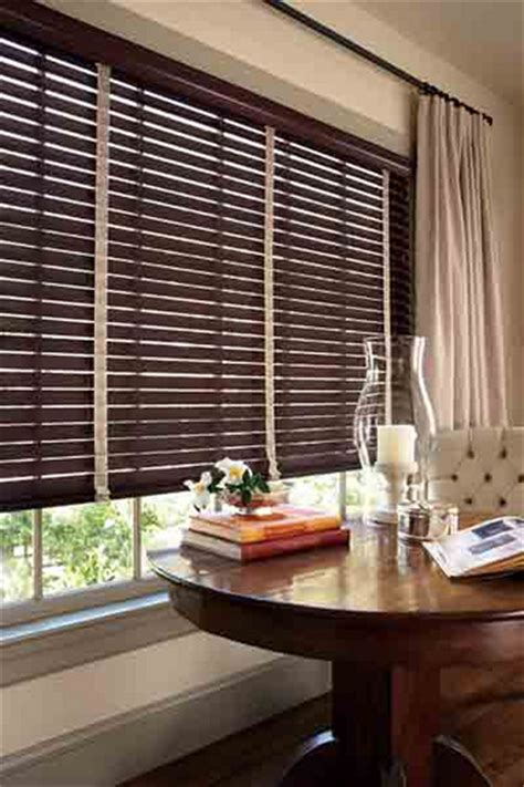 home decorators collection premium faux wood blinds home decorators collection espresso premium faux wood