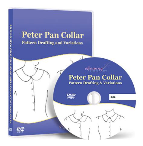 pattern drafting dvd peter pan collar pattern drafting and variations video