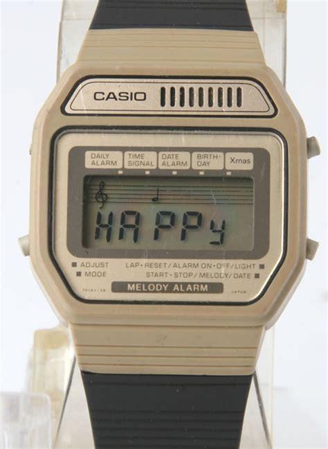 Casio Vintage Melody vintage casio melody alarm 82h108