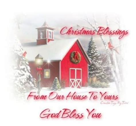 christmas blessings   house   god bless  christmas myniceprofilecom