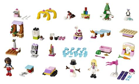 Calendrier U De M Lego Friends Adventskalender 2015 Speziell F 252 R M 228 Dchen