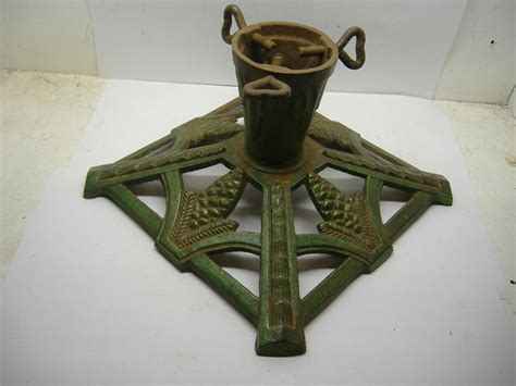 cast iron xmas tree cast iron tree stand edwardian period ebay
