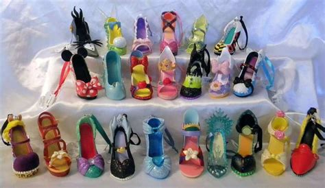 disney collection ornaments disney runway collection shoe ornaments