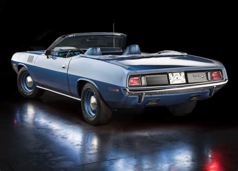 extremely rare 1971 plymouth 426 hemi cuda convertible