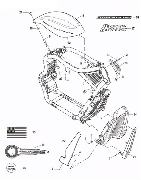 harley parts diagram microfiche diagram for harley davidson genuine parts