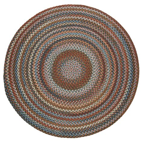 rhody rugs rhody rug greengrass 6 ft x 6 ft indoor braided area rug an22r072x072 the home depot