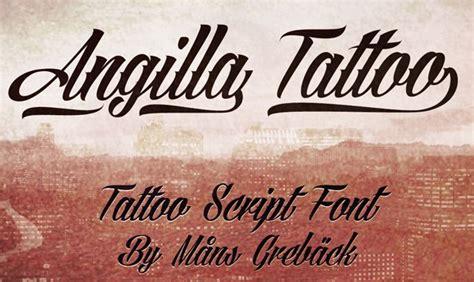 tattoo font angilla 30 best free tattoo fonts 2015