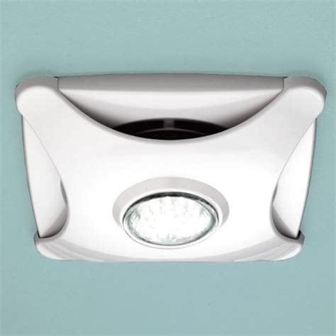 Bathroom Extractor Fan With Led Light Air Ceiling Extractor Fan White With Led Light Buy At Bathroom City