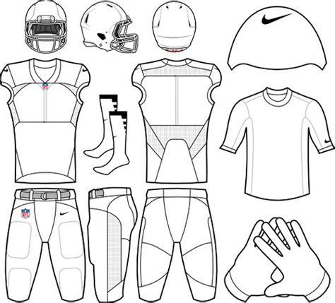 nike uniforms nike football uniform template psd