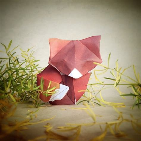 Creativity For Origami - beautiful origami animals placed in whimsical made