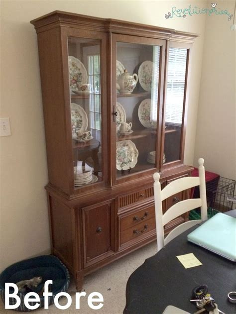 repurpose china cabinet 1000 ideas about repurposed china cabinet on