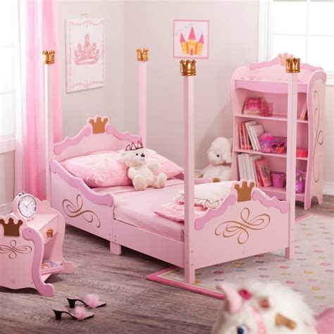 pink kids bed kidkraft princess toddler bed pink contemporary