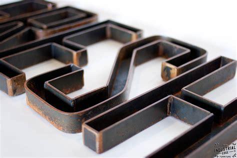 Custom Metal Letters / 12 inch ? Real Industrial Edge