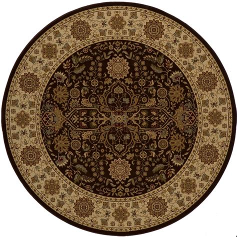 10 X 20 Ft Rug by Momeni Lovely Brown 7 Ft 10 In X 7 Ft 10 In Area