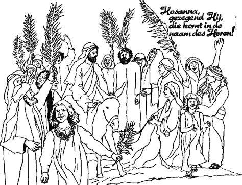 ingresso di gesù a gerusalemme disegni bibbia da colorare disegni biblici giochi