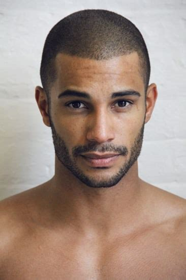 male models biracial hairstyles picture of nathan owens