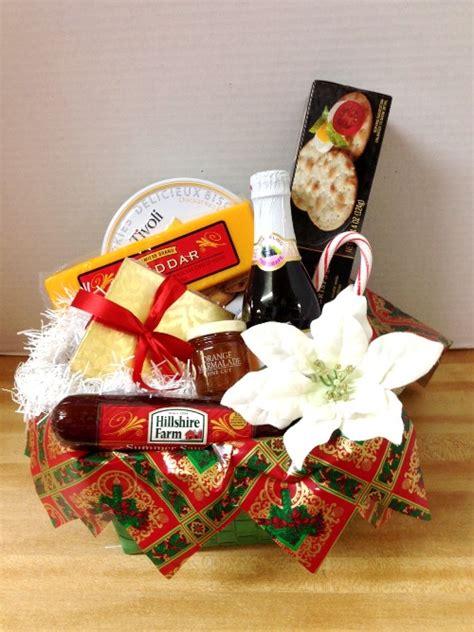 christmas holiday gourmet gift basket