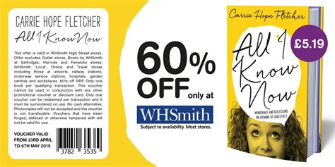printable whsmith vouchers scary hope fletcher on twitter quot guys whsmith have