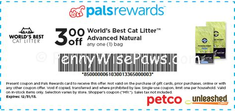 printable coupons for cat food and litter petco new printable store coupons nature s recipe dry