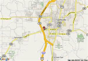 us map fayetteville arkansas map of candlewood suites fayetteville fayetteville