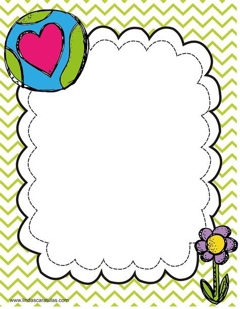 imagenes de formatos escolares www lindascaratulas com caratulas escolares