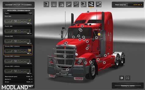 kenworth t kenworth t 609 lhd 1 28 x mod for truck
