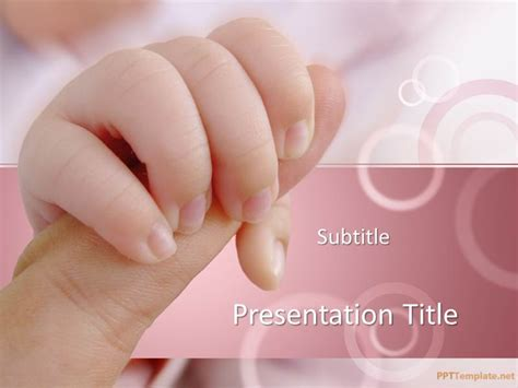 free baby powerpoint templates free infant ppt template