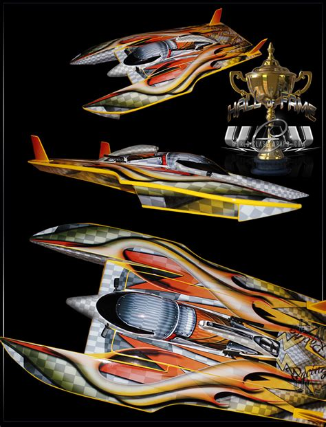 rc boat vinyl graphics custom graphics for aquacraft ul 1 superior