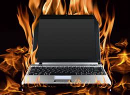 """researchers: burning hot notebooks cause """"toasted skin"""