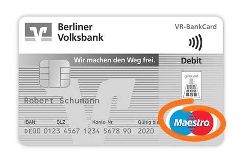 vr bank mastercard kartensymbole