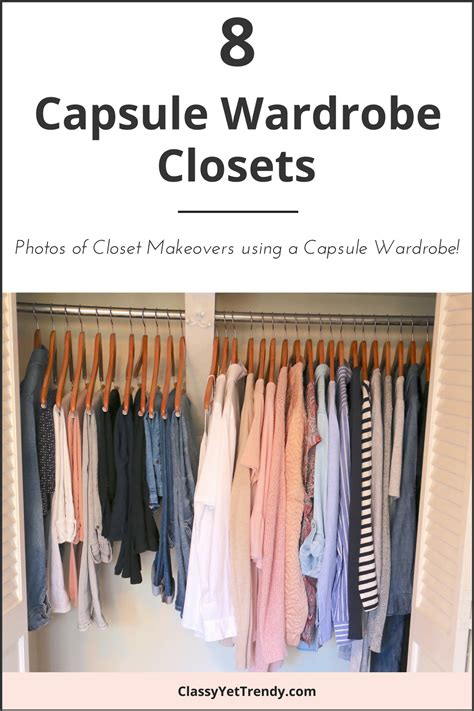 Capsule Closet by 8 Capsule Wardrobe Closets Trendy Wednesday 123