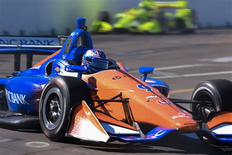 track st pete light impacts st petersburg indycar qualifying the apex