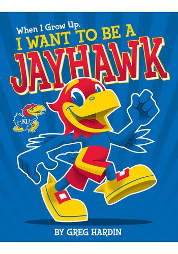 as knows it an exceptional child grows up books kansas jayhawks when i grow up jayhawk children s book