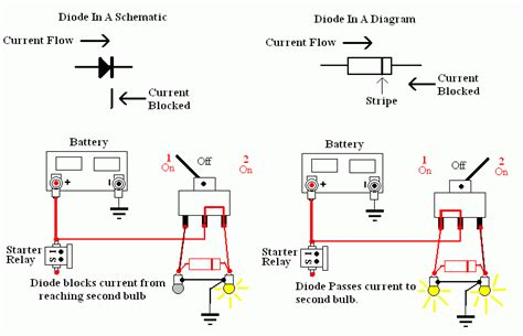 relay plus diode wiring diagram 31 wiring diagram images