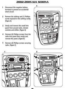 car stereo color wiring diagram for a 2007 kia spectra 5
