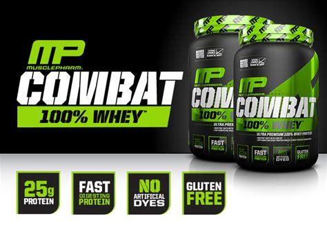 Combat Whey Protein Musclepharm Combat 100 Whey At Bodybuilding Best