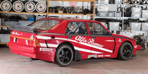 rm sotheby s to auction imsa 1987 alfa romeo 75