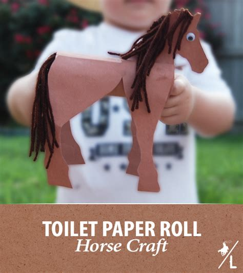 How To Make Out Of Toilet Paper Roll - a cowboy s horsin around toilet paper craft