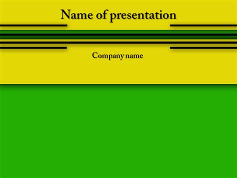 powerpoint templates free download yellow download free yellow green powerpoint template for your
