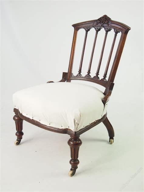 antique bedroom chair small victorian chair or dressing table chair antiques atlas