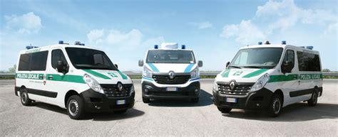 ufficio polizia uffici mobili veicoli polizia gamma renault focaccia