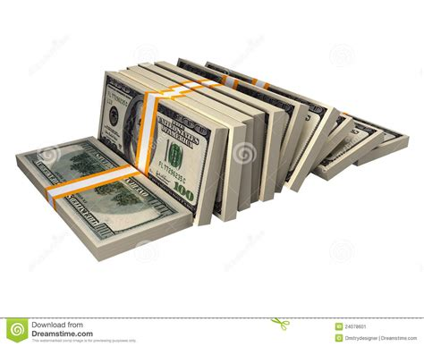 Stack Of $100 Bills Stock Image - Image: 24078601 $100 Bill Stack