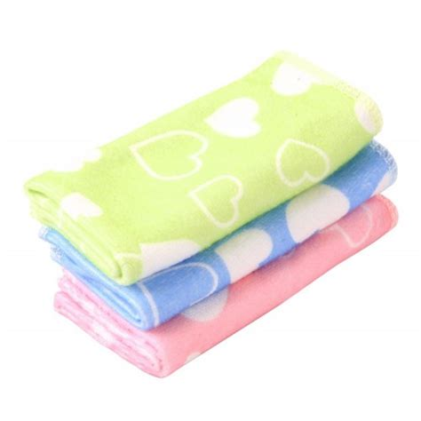 Carters 3pcs by Carters 3pcs Baby Washers Towels