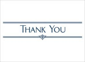 navy thank you card thank you cards from cardsdirect